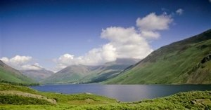 Scafell and Wast Water
