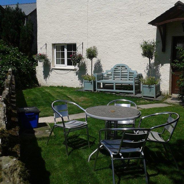 Woodland Cottage Garden view